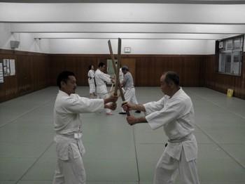 aikido photo Nakano:中高年の合気道稽古