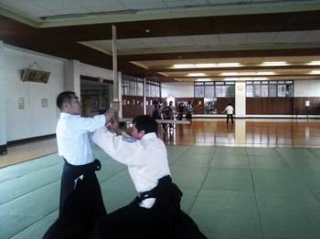 剣術 鍔迫り合い